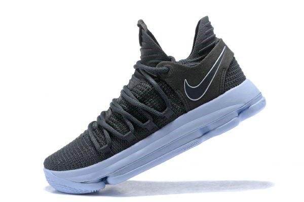 Cheap Wholesale Nike KD 10 Dark Grey Reflective Silver Mens Basketball Shoes 897815-005 - www.wholesaleflyknit.com
