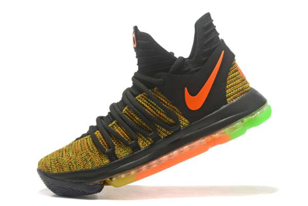 Cheap Wholesale Nike KD 10 Peach Jam EYBL PE Mens Basketball Shoes - www.wholesaleflyknit.com