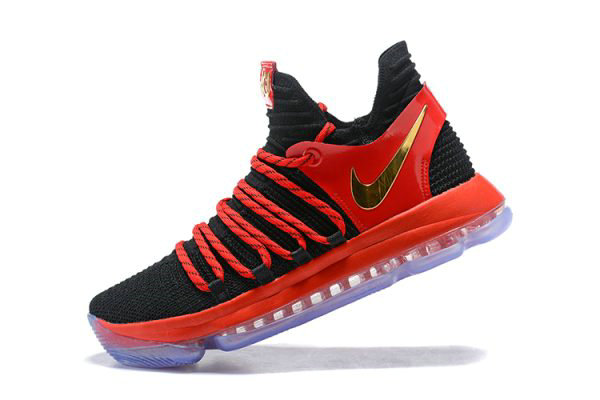 Cheap Wholesale Nike KD 10 University Red AJ7220-076 Mens Basketball Shoes - www.wholesaleflyknit.com