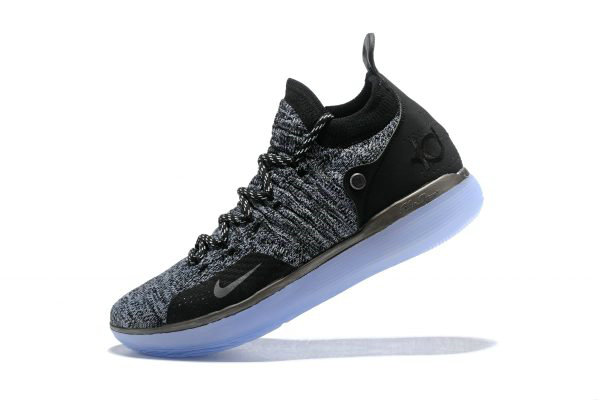 Cheap Wholesale Nike KD 11 EP Oreo Black Grey Kevin Durants Signature Basketball Shoes AO2605-004 - www.wholesaleflyknit.com