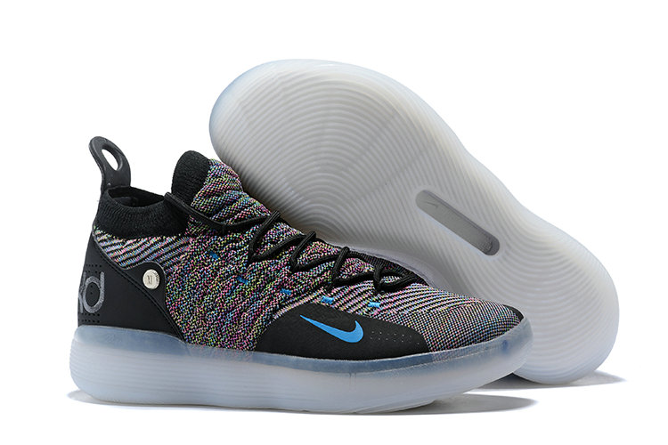 5a6b1f4c041 Cheap Wholesale Nike KD 11 Multi-Color Flyknit AO2604-001 Black Persian  Violet-