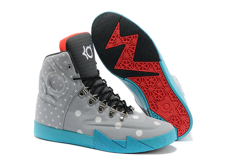 Wholesale Cheap Nike KD 6 NSW Lifestyle Birthday Light Grey Anthracite-White For Sale - www.wholesaleflyknit.com