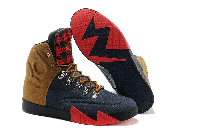 Wholesale Cheap Nike KD 6 NSW Lifestyle QS Peoples Champ Denim Blue Ale Brown-University Red - www.wholesaleflyknit.com