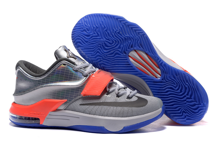 Wholesale Cheap Nike KD 7 All-Star Pure Platinum Multi-Color-Black - www.wholesaleflyknit.com