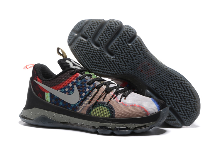 Wholesale Cheap Nike KD 8 SE What The Multi Color Multi Color - www.wholesaleflyknit.com