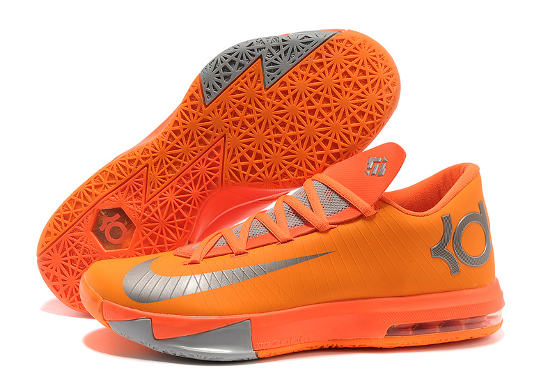 Wholesale Cheap Nike Kevin Durant KD 6 VI NYC 66 Total Orange Armory Slate-Team Orange - www.wholesaleflyknit.com