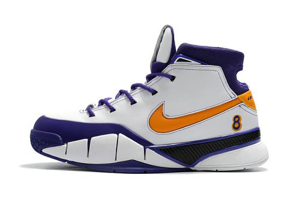 Cheap Wholesale Nike Kobe 1 Protro Final Seconds White Del Sol-Varsity Purple AQ2728-101 - www.wholesaleflyknit.com