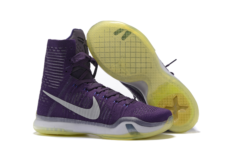 Wholesale Cheap Nike Kobe 10 Elite High Team For Sale - www.wholesaleflyknit.com