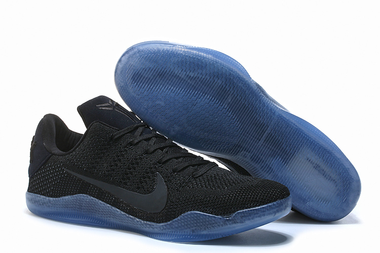 Wholesale Cheap Nike Kobe 11 Elite Low Black Space Black Black-Black For Sale - www.wholesaleflyknit.com