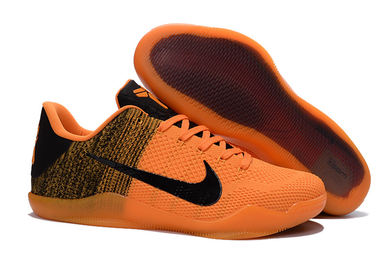 Wholesale Cheap Nike Kobe 11 Elite Orange Black Basketball Shoes For Sale - www.wholesaleflyknit.com