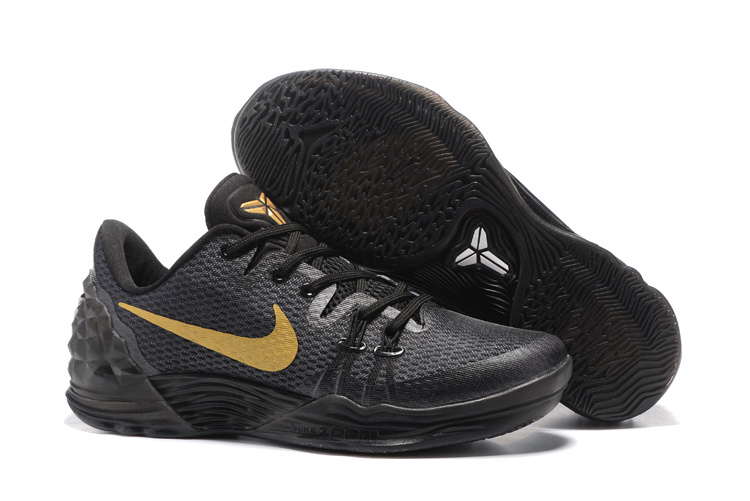 Wholesale Cheap Nike Kobe 11 FTB Black Mamba Black Black-Metallic Gold 2016 For Sale - www.wholesaleflyknit.com