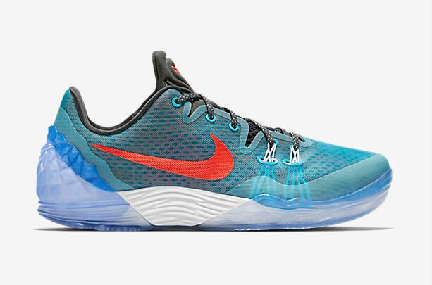 Wholesale Cheap Nike Kobe Venomenon 5 EP Chlorine Blue 2016 For Sale - www.wholesaleflyknit.com