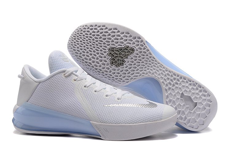 Wholesale Cheap Nike Kobe Venomenon 6 EP White Pure Platinum For Sale - www.wholesaleflyknit.com