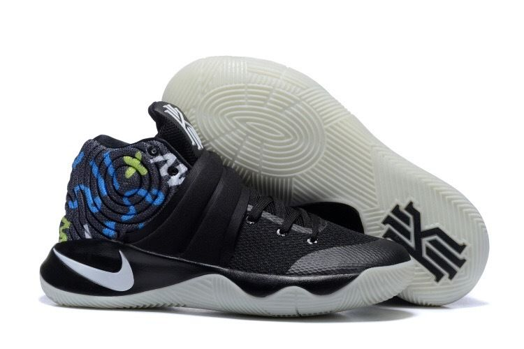 Wholesale Cheap Nike Kyrie 2 Black Multi-Color Basketball Shoes - www.wholesaleflyknit.com