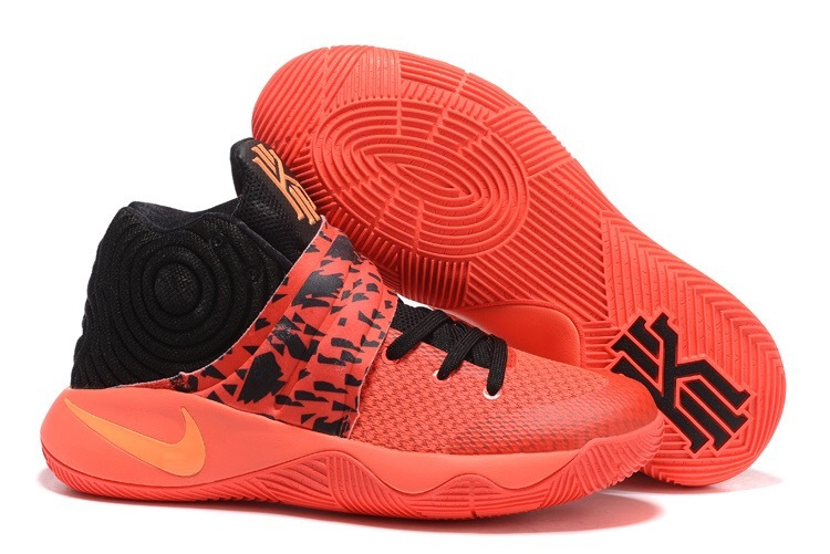 Wholesale Cheap Nike Kyrie 2 Bright Crimson Bright Crimson Black Atomic Orange - www.wholesaleflyknit.com