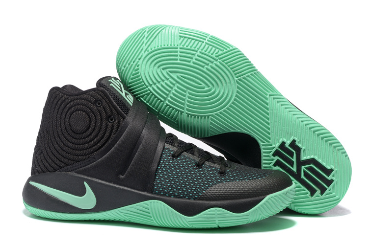 Wholesale Cheap Nike Kyrie 2 Green Glow Black Green Glow - www.wholesaleflyknit.com