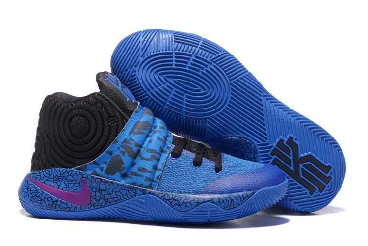 Wholesale Cheap Nike Kyrie 2 Royal Blue Purple-Black - www.wholesaleflyknit.com