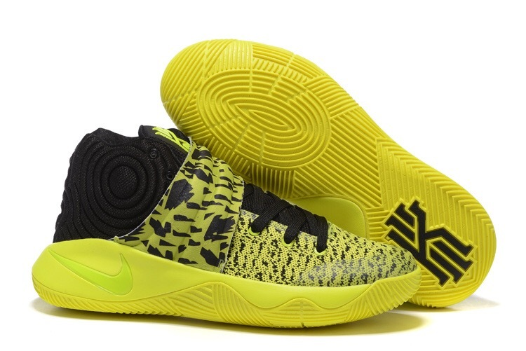 Wholesale Cheap Nike Kyrie 2 Yellow Volt-Black - www.wholesaleflyknit.com