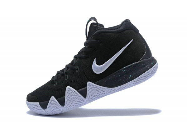 Cheap Wholesale Nike Kyrie 4 Black White-Anthracite-Light Racer Blue 943806-002 - www.wholesaleflyknit.com