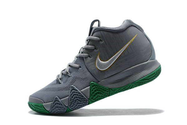 Cheap Wholesale Nike Kyrie 4 City Guardians Silver Metallic Gold-Light Gum Brown-Gold 943806-001 - www.wholesaleflyknit.com