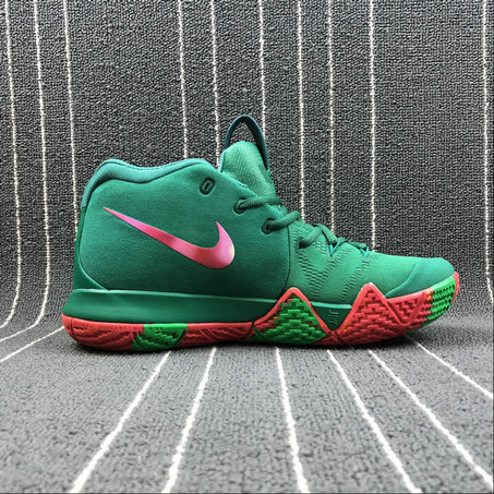 Wholesale Nike Kyrie 4 London 943807-611 Green Color Couleur Verite On www.wholesaleoffwhite.com