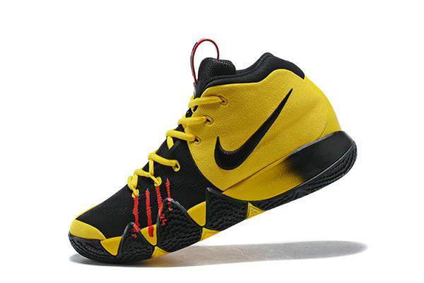 Cheap Wholesale Nike Kyrie 4 Mamba Mentality Bruce Lee Tour Yellow Black For Sale - www.wholesaleflyknit.com