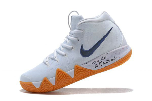 Cheap Wholesale Nike Kyrie 4 Uncle Drew White Gum Mens Basketball Shoes AQ8623-001 - www.wholesaleflyknit.com