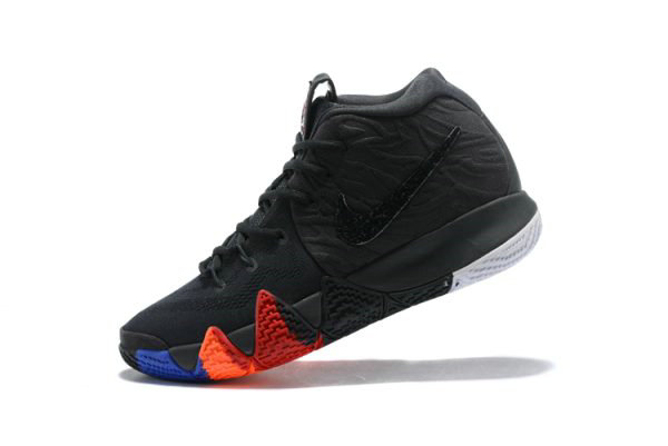 Cheap Wholesale Nike Kyrie 4 Year of the Monkey Anthracite Black 943806-011 Free Shipping - www.wholesaleflyknit.com