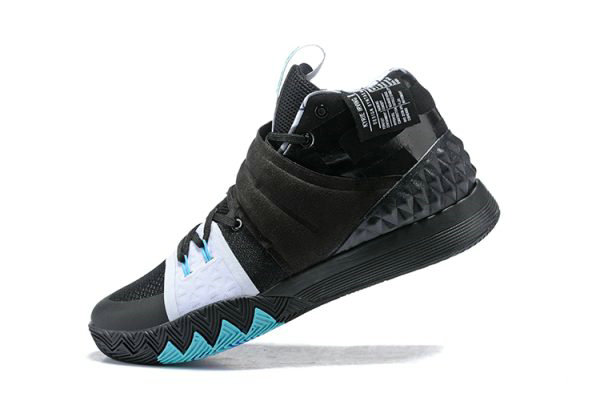 Cheap Wholesale Nike Kyrie S1 Hybrid Opening Night Black White Blue Free Shipping - www.wholesaleflyknit.com