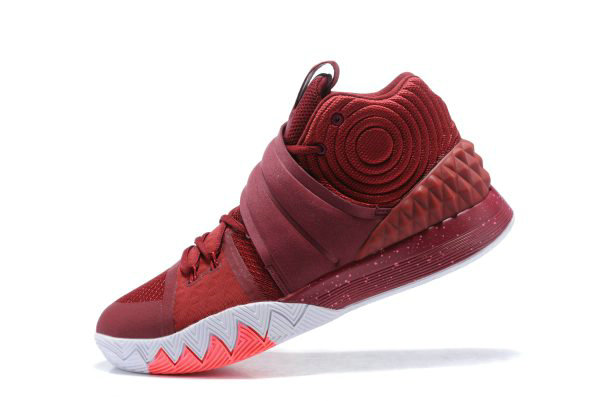 Cheap Wholesale Nike Kyrie S1 Hybrid Wine Red Mens Basketball Shoes On Sale - www.wholesaleflyknit.com