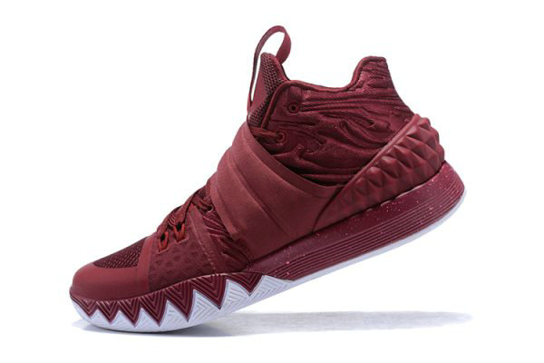 Cheap Wholesale Nike Kyrie S1 Hybrid Wine Red White 2018 For Sale - www.wholesaleflyknit.com