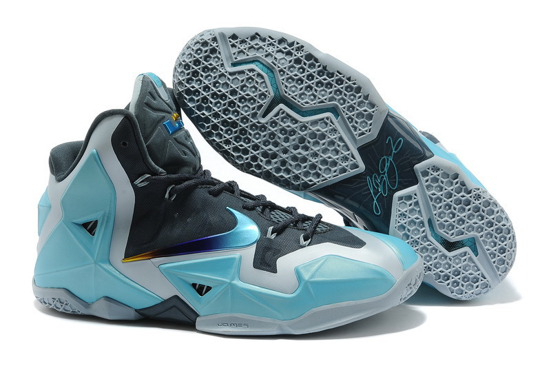 Wholesale Cheap Nike LeBron 11 Armory Slate Gamma Blue-Light Armory Blue For Sale - www.wholesaleflyknit.com