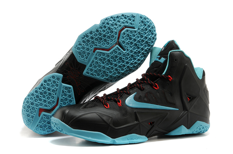 Wholesale Cheap Nike LeBron 11 Diffused Jade Black Diffused Jade-Light Crimson-Jade Glaze - www.wholesaleflyknit.com