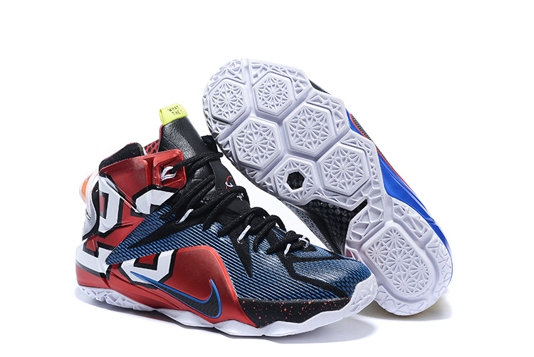 Wholesale Cheap Nike LeBron 12 What The Multi-Color Multi-Color For Sale - www.wholesaleflyknit.com