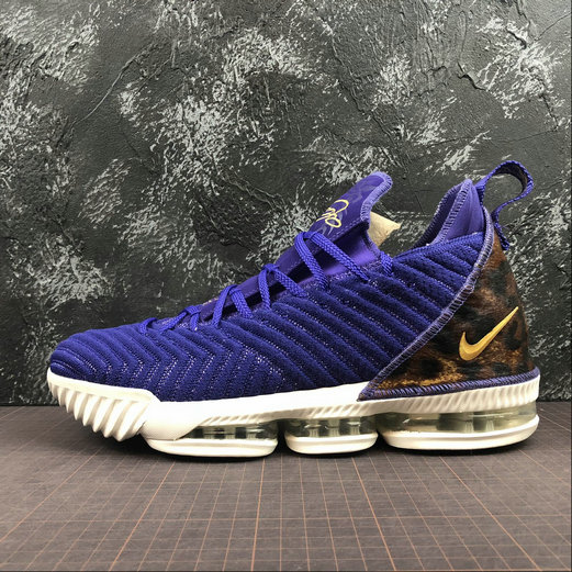 Wholesale Nike LeBron James XVI EP AO2588-500 Court Purple Metallic Gold Violet-www.wholesaleflyknit.com