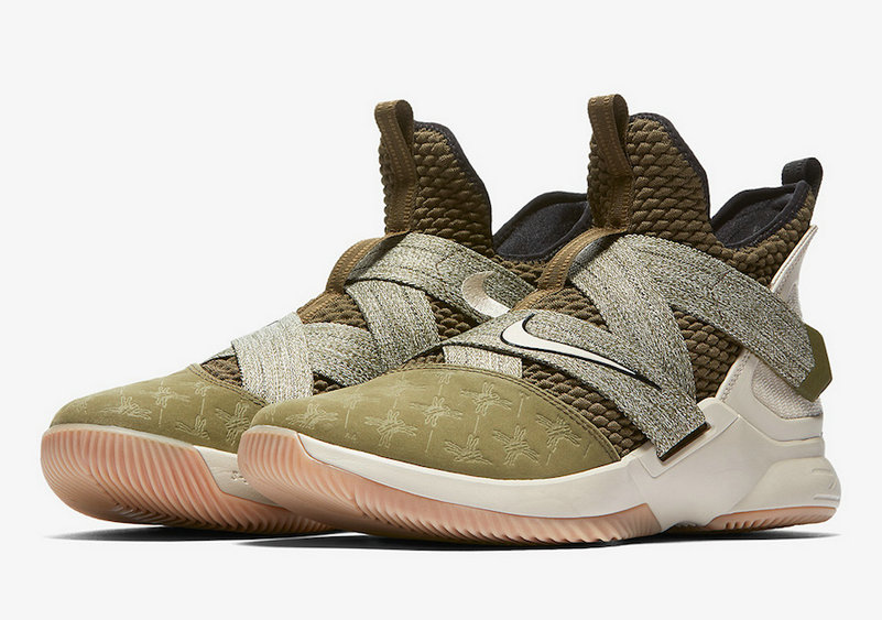 Cheap Wholesale Nike LeBron Soldier 12 AO2609-300 LAND AND SEA PACK - www.wholesaleflyknit.com