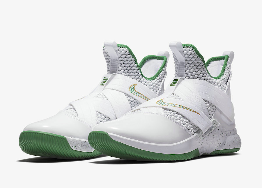 Cheap Wholesale Nike LeBron Soldier 12 SVSM Home AO2609-100 White Multi-Color - www.wholesaleflyknit.com