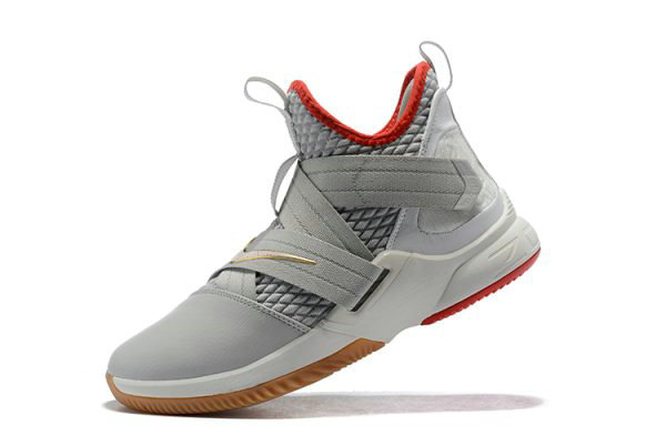 Cheap Wholesale Nike LeBron Soldier 12 Yeezy Light Bone AO2609-002 Free Shipping - www.wholesaleflyknit.com