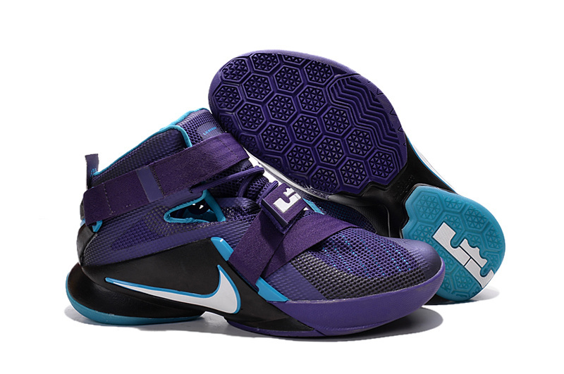 Wholesale Cheap Nike LeBron Soldier 9 Summit Lake Hornets Basketball Shoe - www.wholesaleflyknit.com