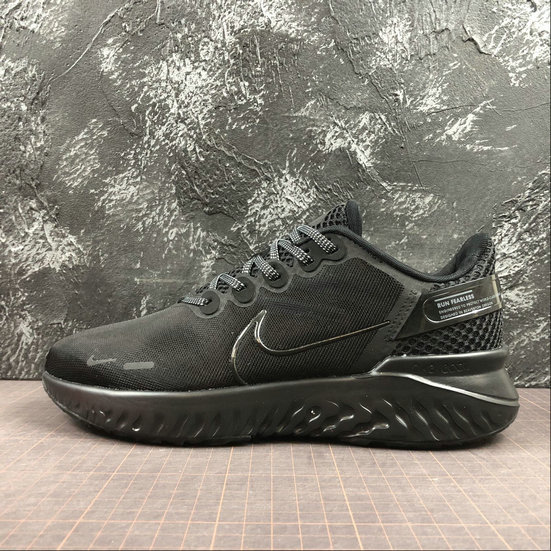 Wholesale Nike Legend React 3 517762-803 ALL BLACK-www.wholesaleflyknit.com