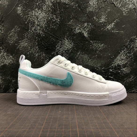 Wholesale Nike Lunar AIR Force 1 Duckboot Low Mens 805886-111 All White Blanc-www.wholesaleflyknit.com