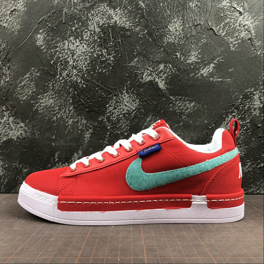 Wholesale Nike Lunar AIR Force 1 Duckboot Low Womens 805886-606 Red White Rouge Blanc-www.wholesaleflyknit.com