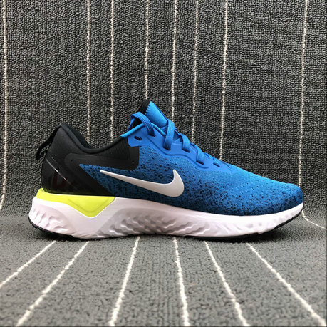 Wholesale Nike Odyssey React AO9819-400 LAKE BLUE BLACK NOIR On www.wholesaleoffwhite.com