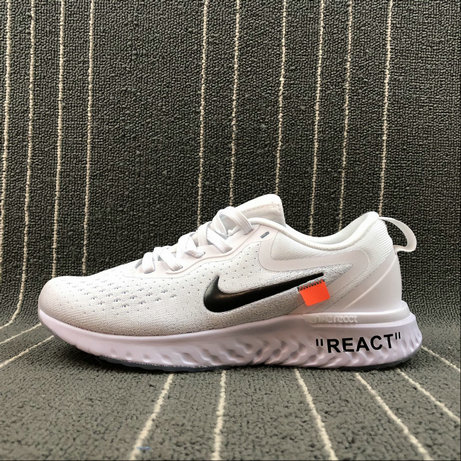 Wholesale Nike Odyssey React AQ9820-001 WHITE BLACK BLANC NOIR On www.wholesaleoffwhite.com