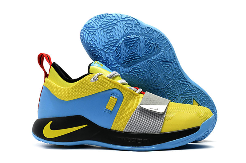 Cheap Wholesale Nike PG 2.5 BQ9457-740 Opti Yellow Blue Hero-Black-University Red-Metallic Silver - www.wholesaleflyknit.com