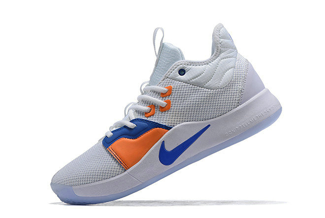 Where To Buy Nike PG 3 The Bait III White Photo Blue For Sale - www.wholesaleflyknit.com