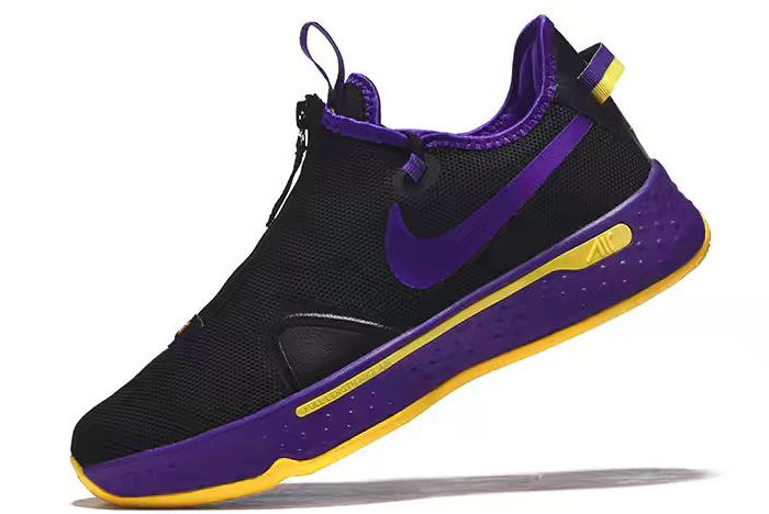 Where To Buy Nike PG 4 Black Purple-Yellow 2020 For Sale - www.wholesaleflyknit.com