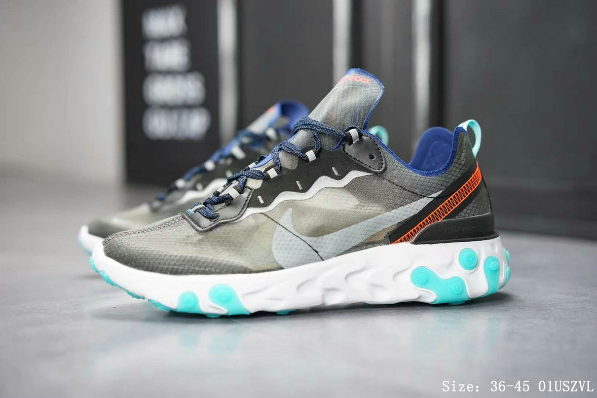 Wholesale Nike React Element 87 AQ1090-005 Black Neptune Green-Bright Mango-Midnight Navy-www.wholesaleflyknit.com