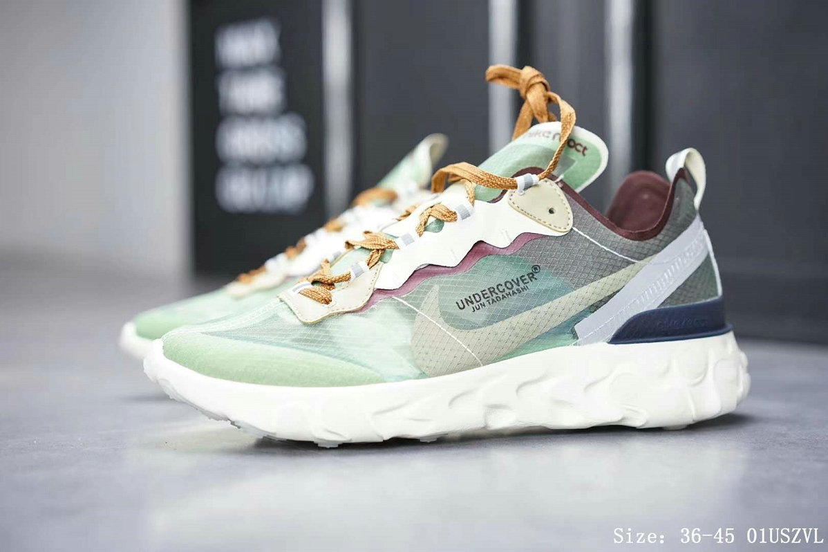Wholesale Nike React Element 87 Mens Womens Releasing In Neptune Green-www.wholesaleflyknit.com