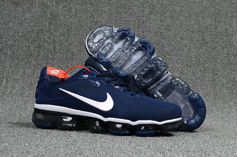 Wholesale Cheap Nike VaporMax Freestyle 2017 Collection Nike VaporMax MD Navy Blue White - www.wholesaleflyknit.com